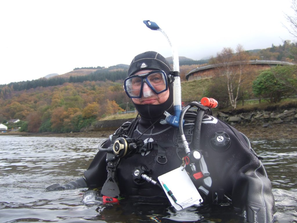 PADI - Dry Suit Speciality Course - Scotland