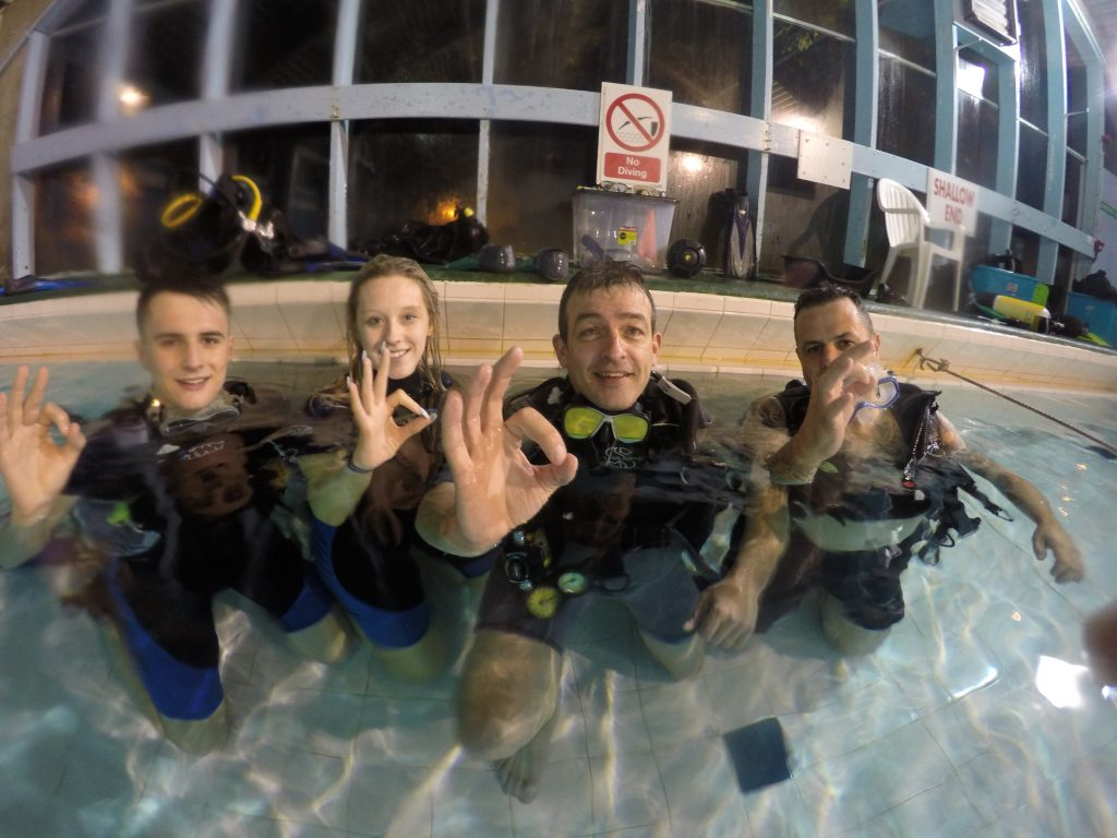 Diving Adventures Scotland Offer Pool Facilities